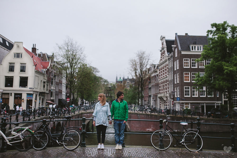 Engagement shoot in Amsterdam