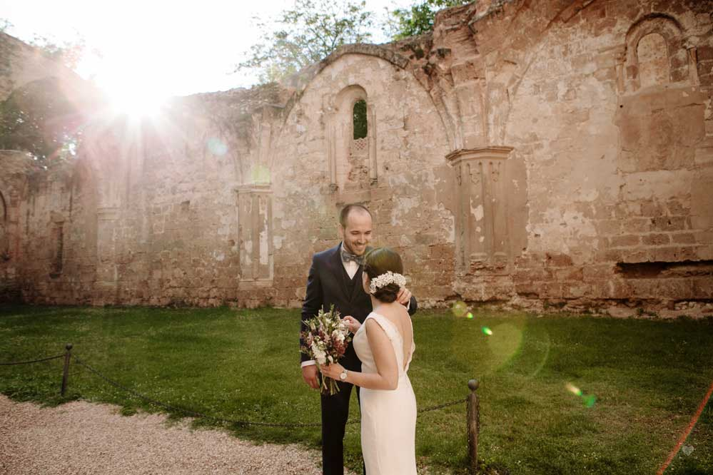 Wedding at Monasterio de Piedra