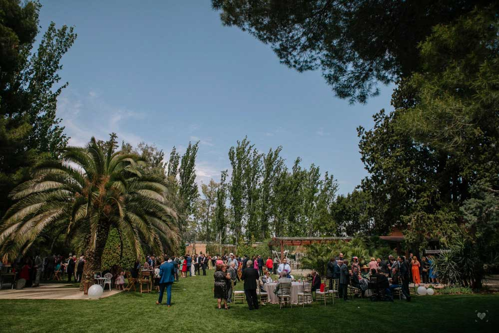 boda civil aire libre