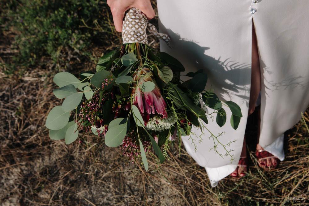 ramo novia vestido boda
