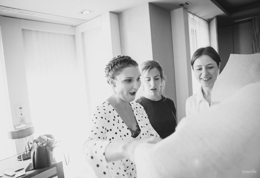 novia boda preparativos