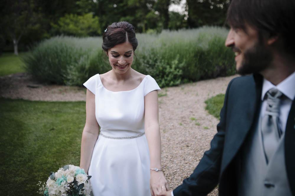 villahermosa boda novia jardin