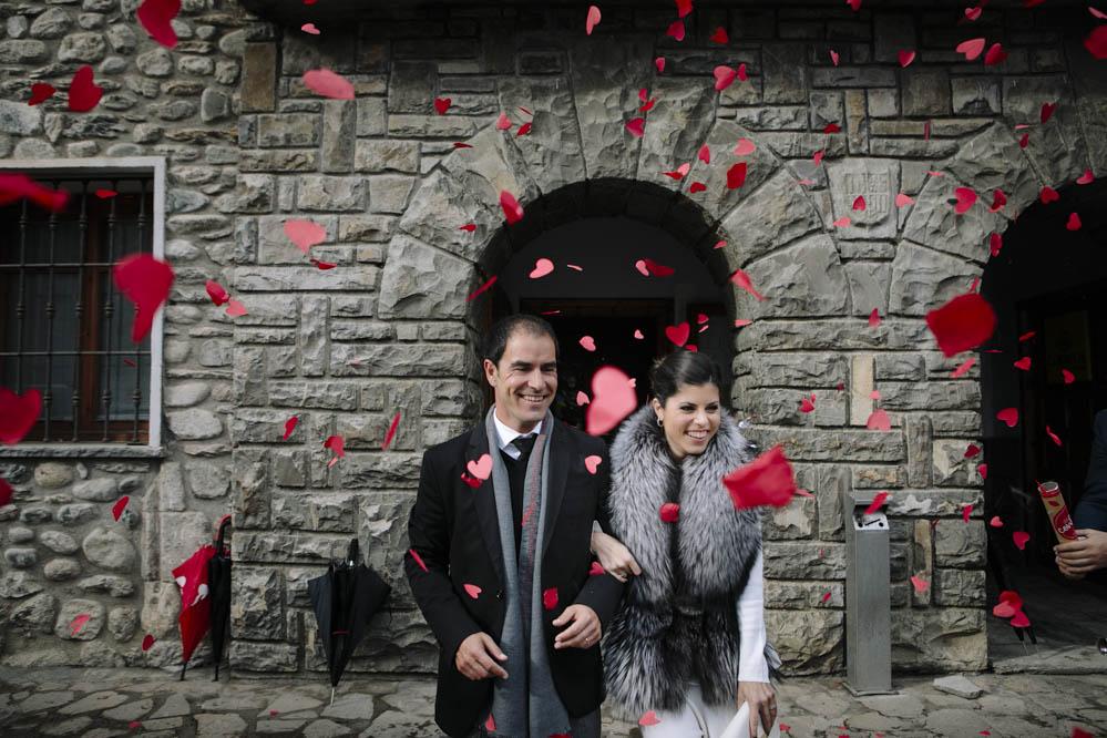 boda en Ayuntamiento de Benasque