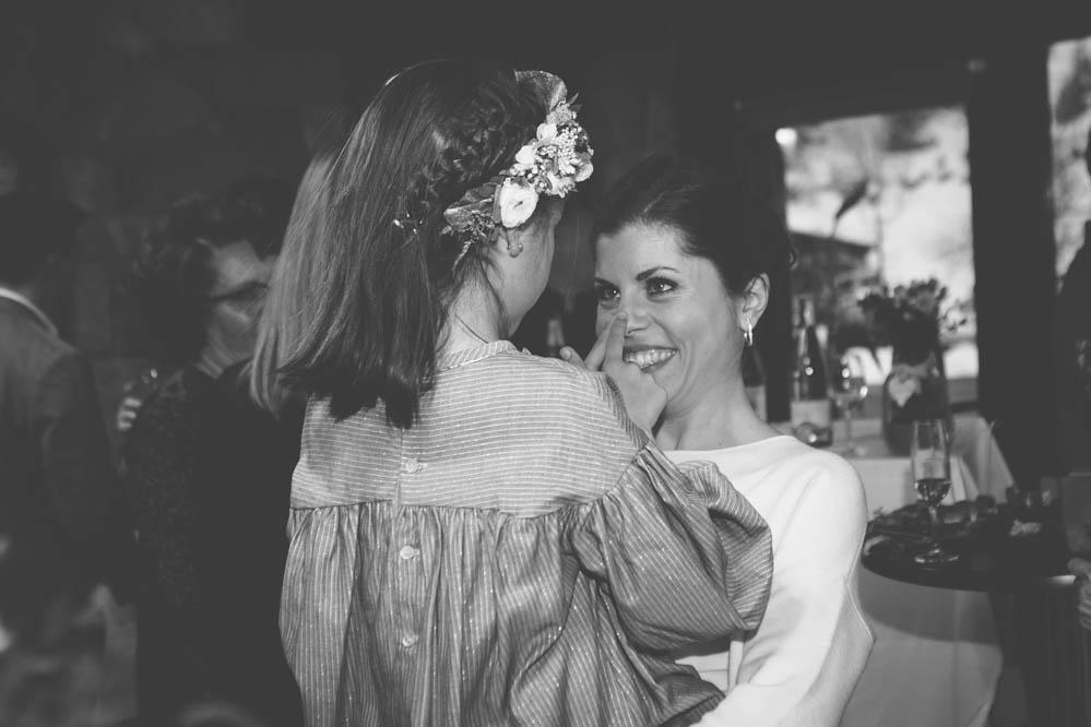 novia y sobrina