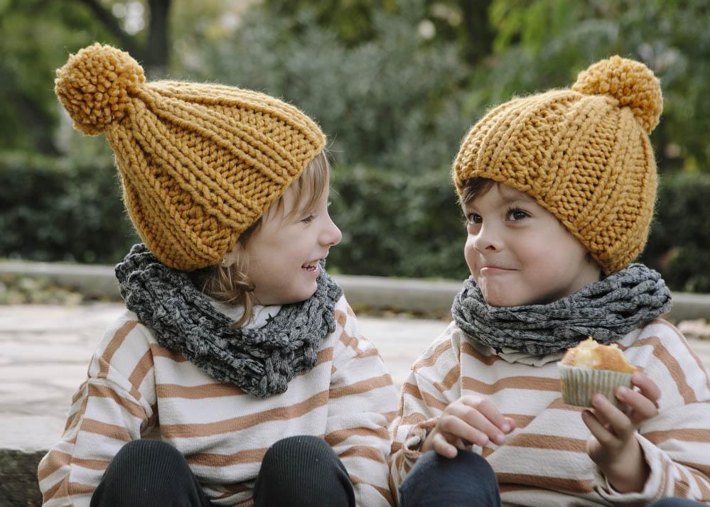 niños comiendo magdalenas 2