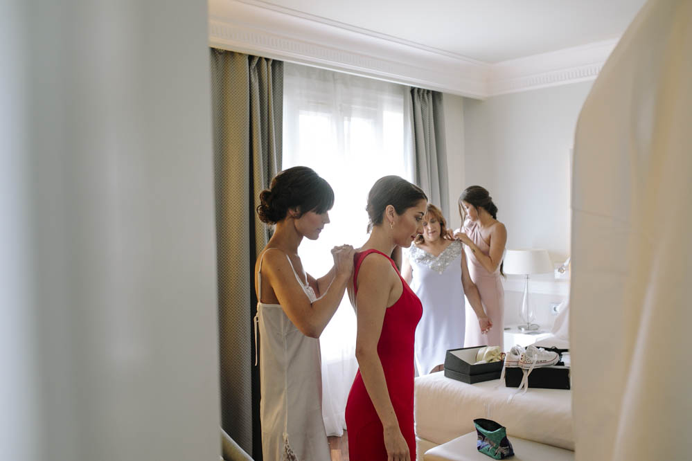 preparativos de novia NH Zargoza