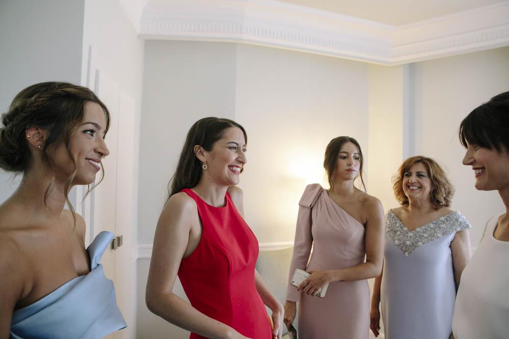 hermanas de la novia