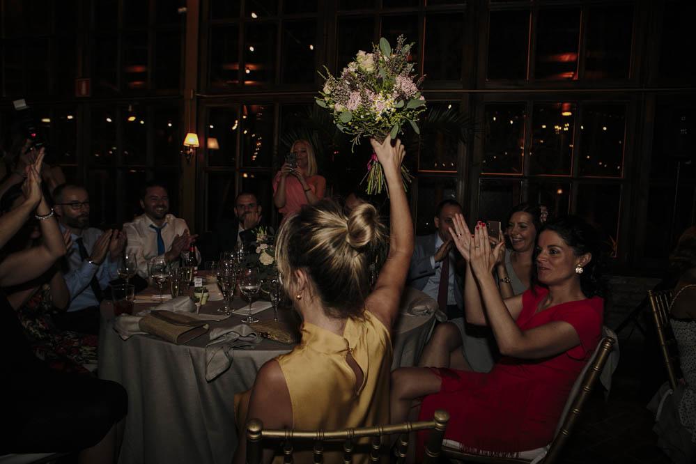 Casa de las Hiedras ramo de la novia