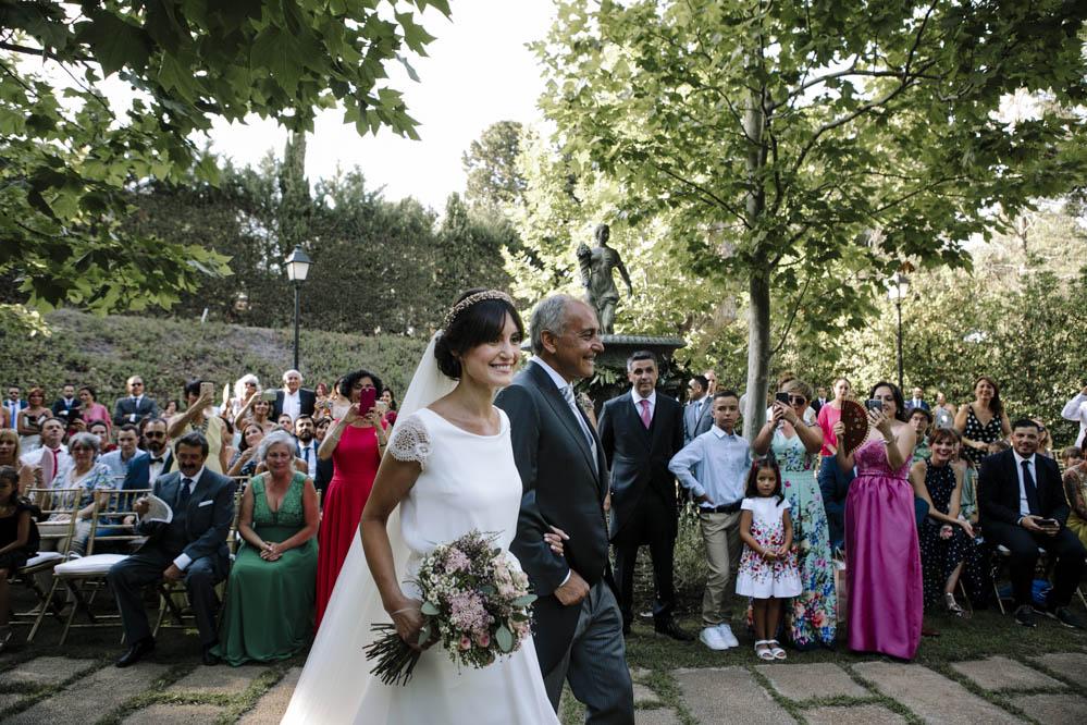 llegada de la novia Casa de las Hiedras