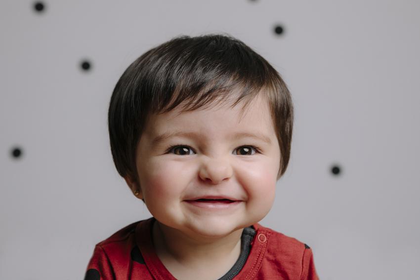 fotografia de estudio infantil