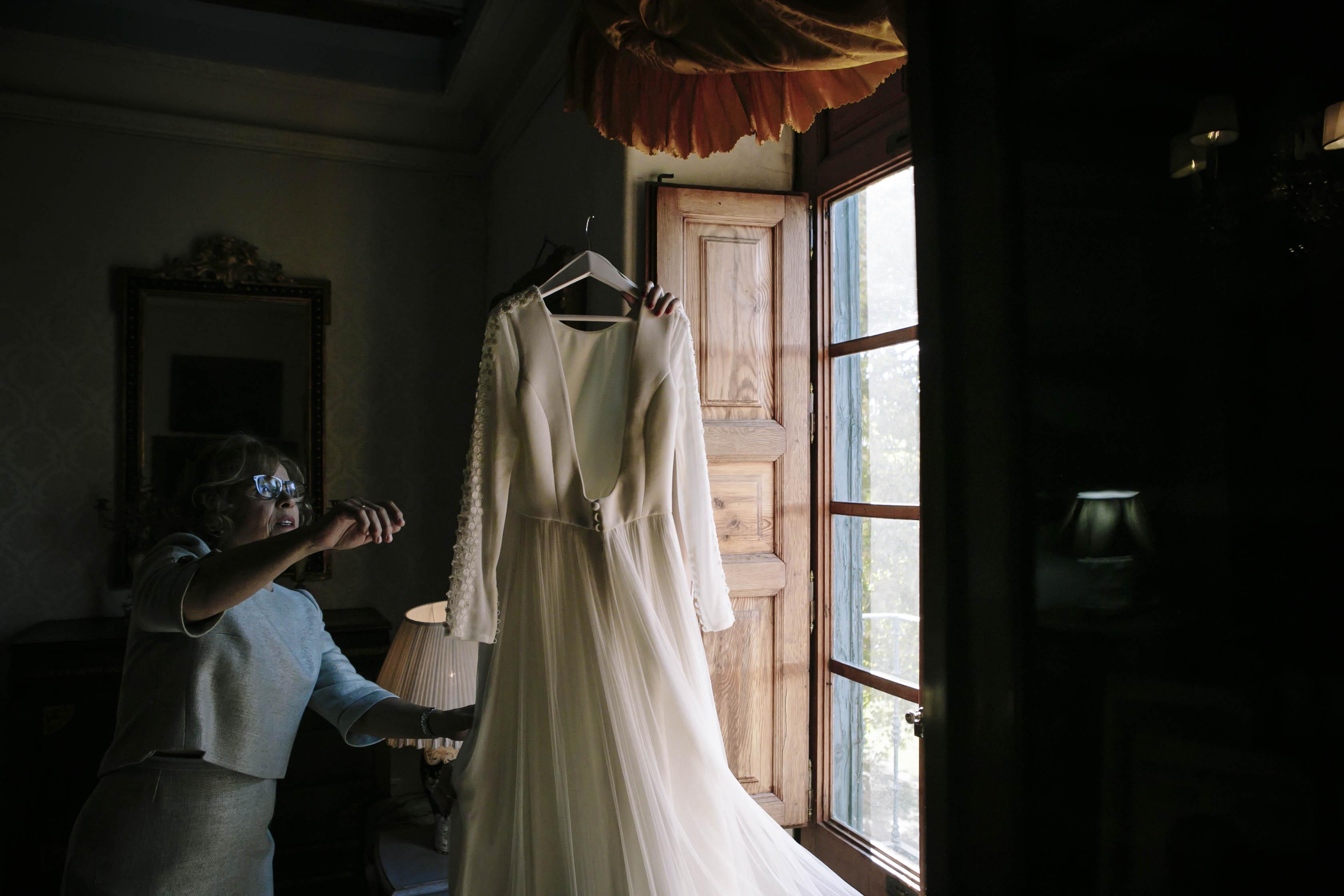 vestido de novia Cruz Temprado