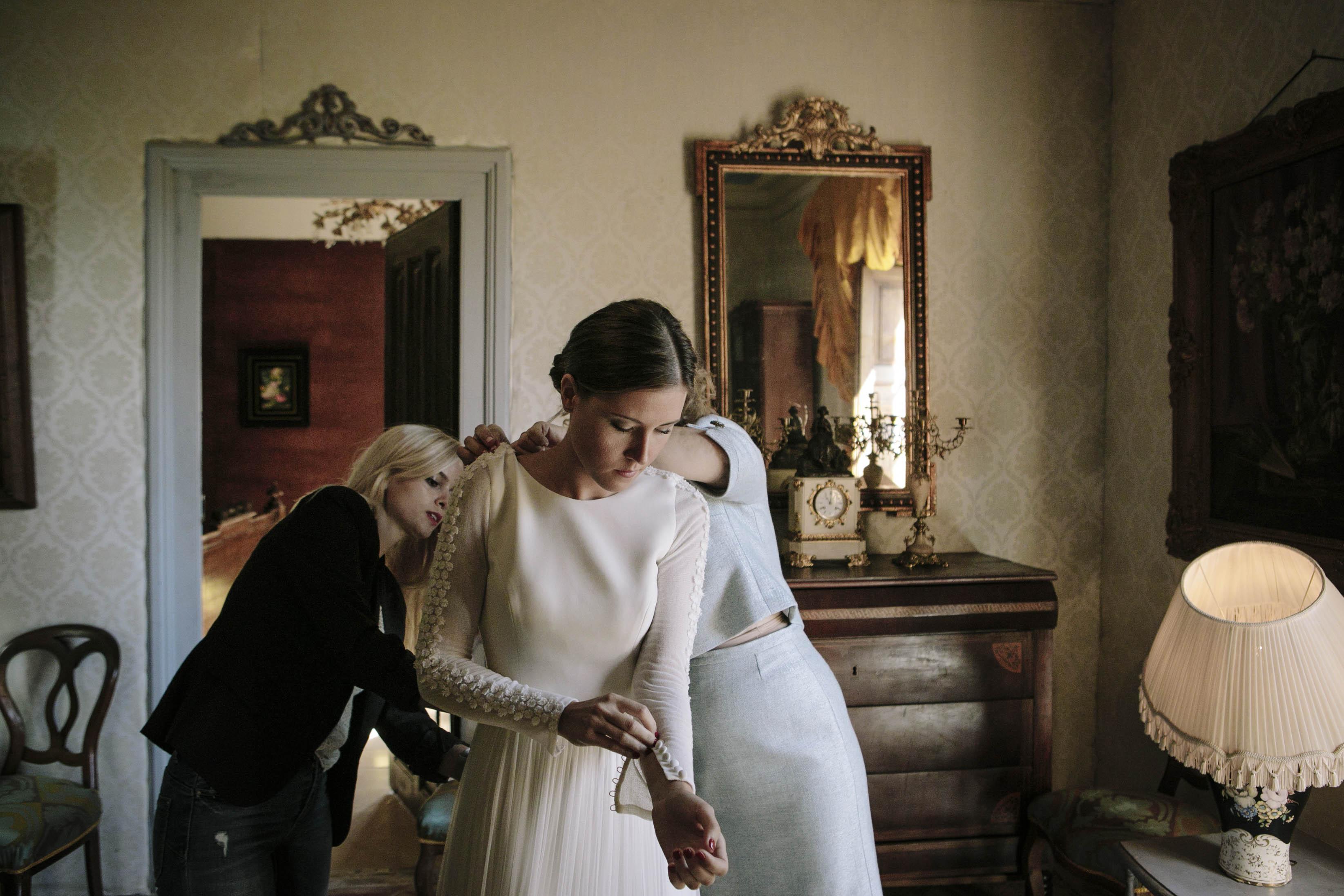 vestido de novia Cruz Temprado 3