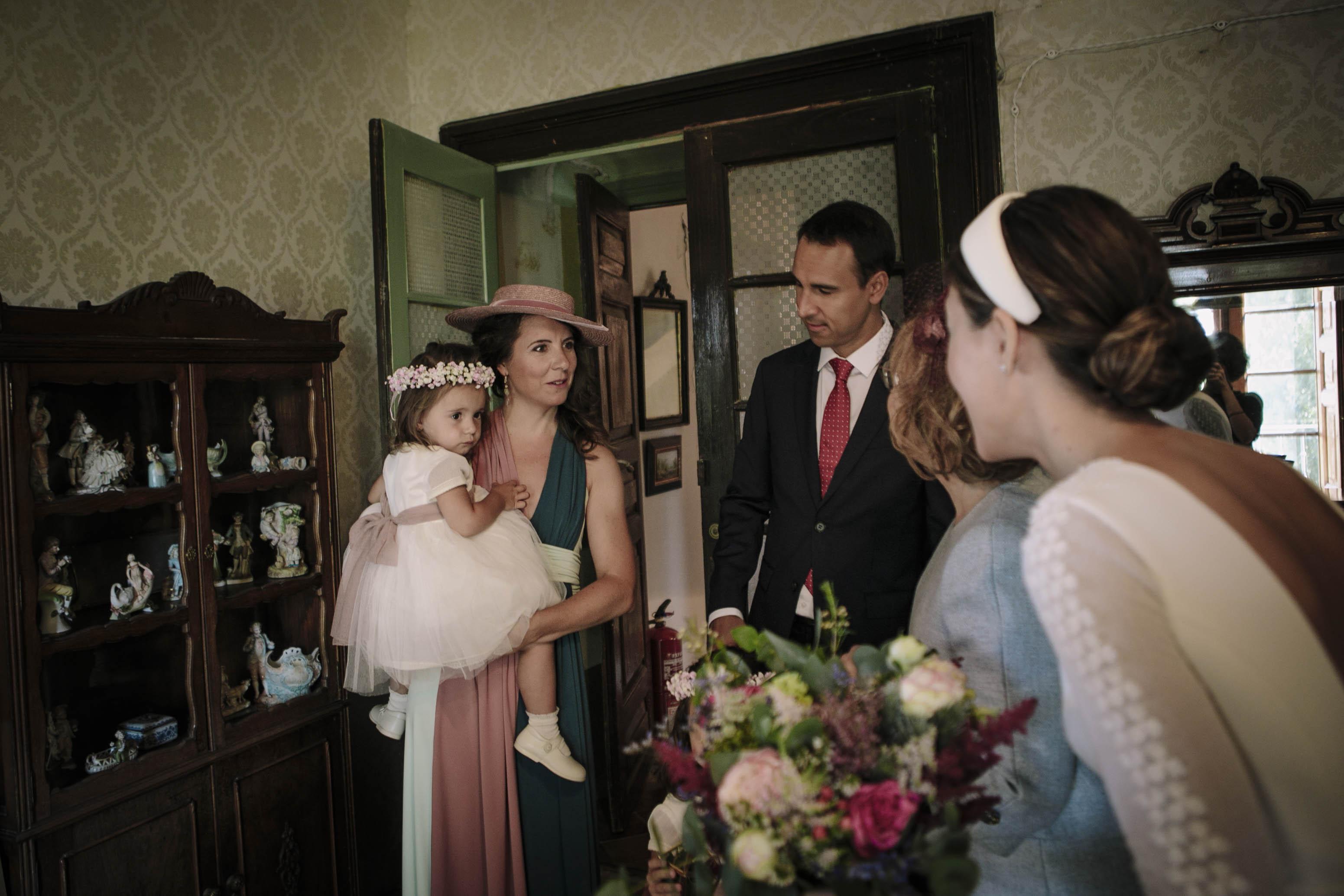 sobrinas de la novia