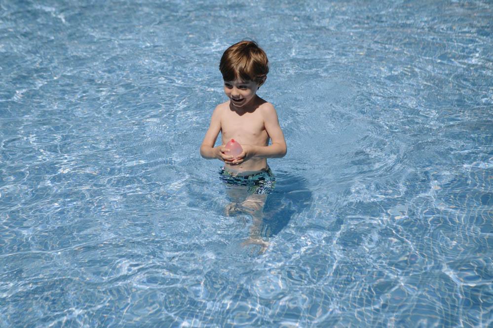 sesión de fotos en piscina 2