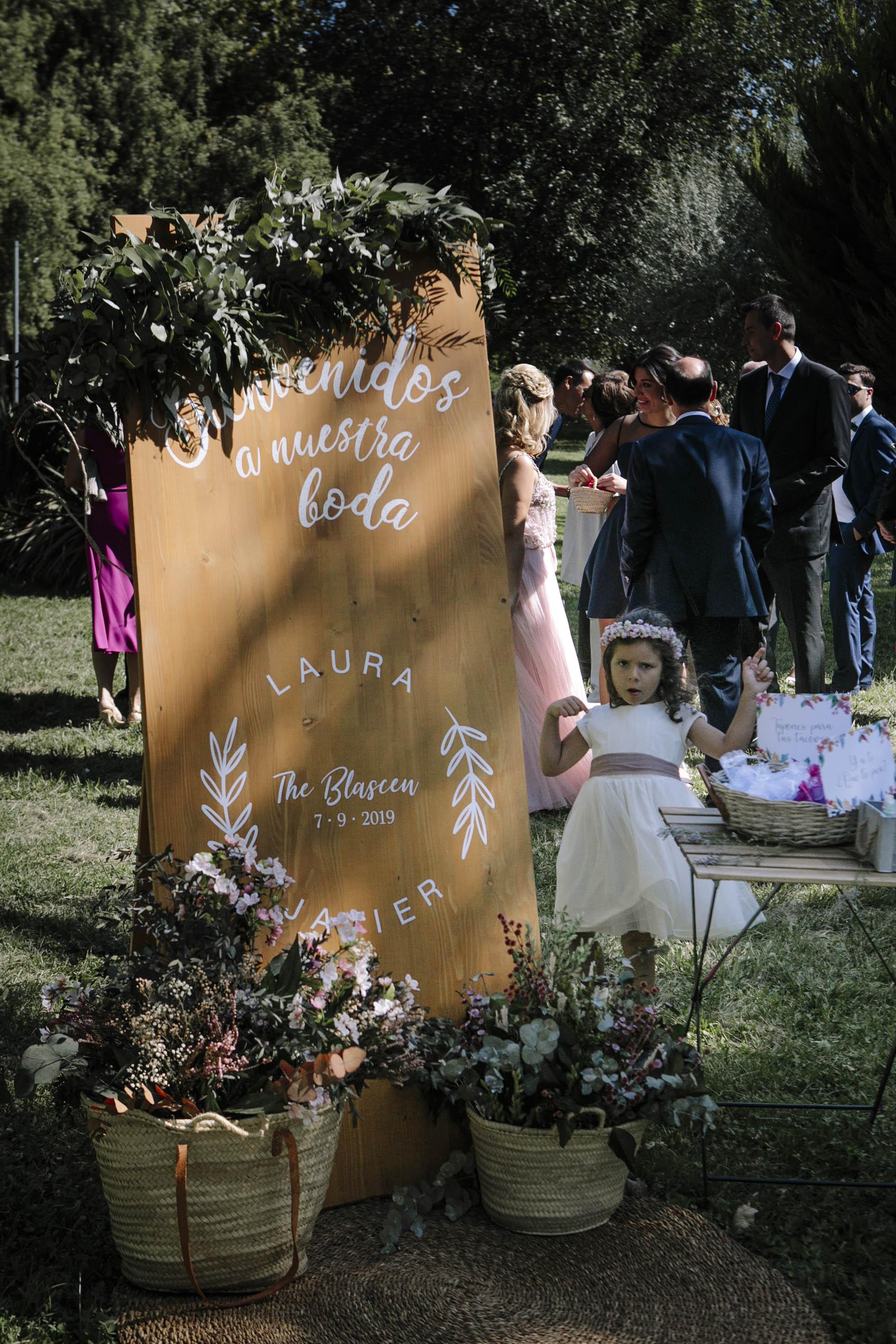 decoración de boda Balcón de Alicia