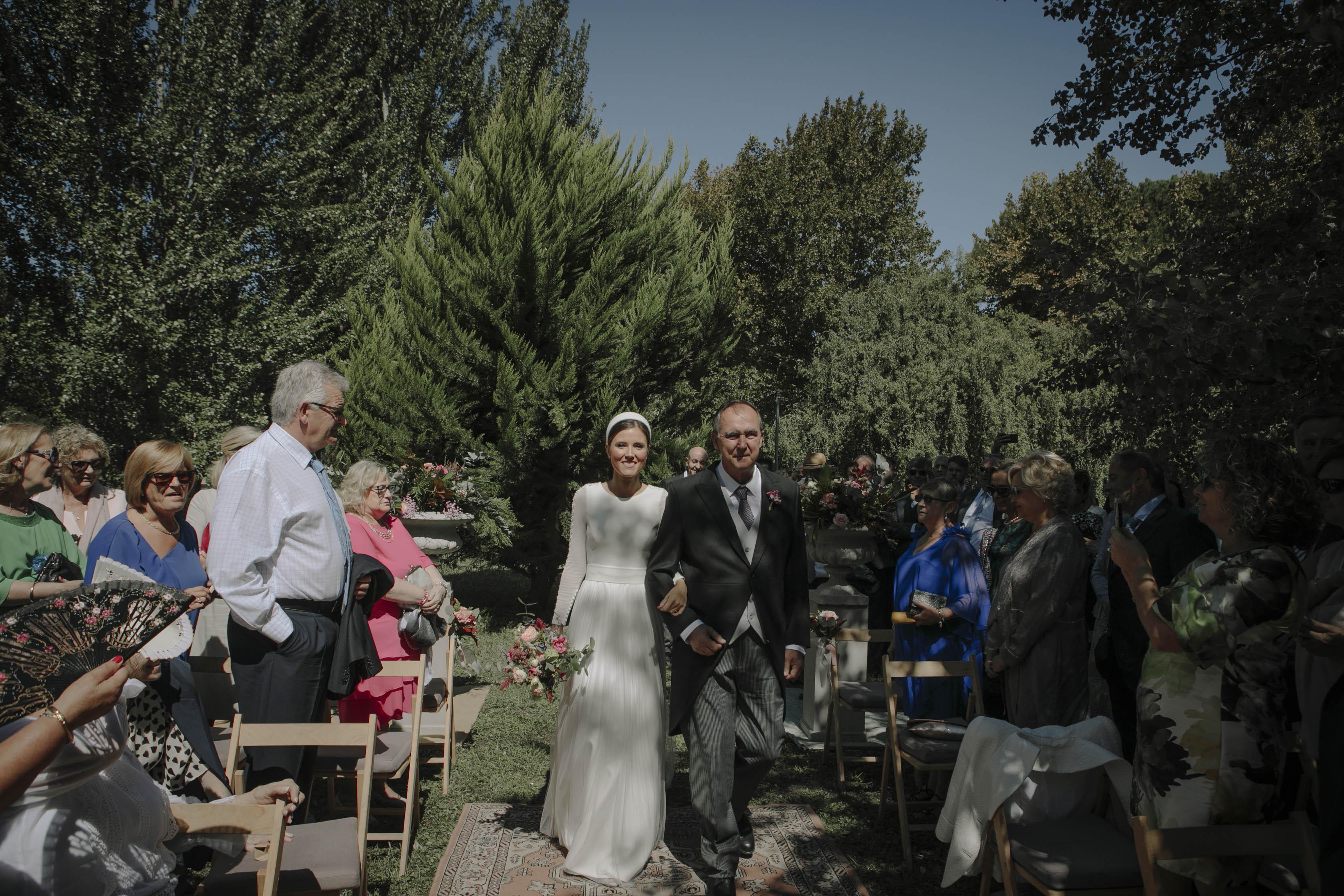 llegada de la novia 2