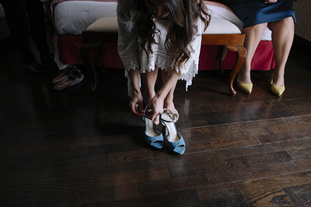 preparativos novia en Ligüerre de Cinca 2