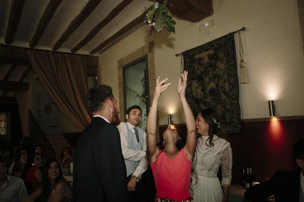 lanza el ramo de novia