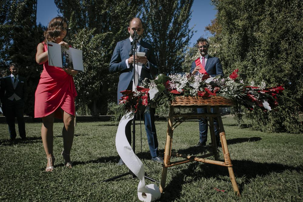 boda en Soto de Bruil al aire libre