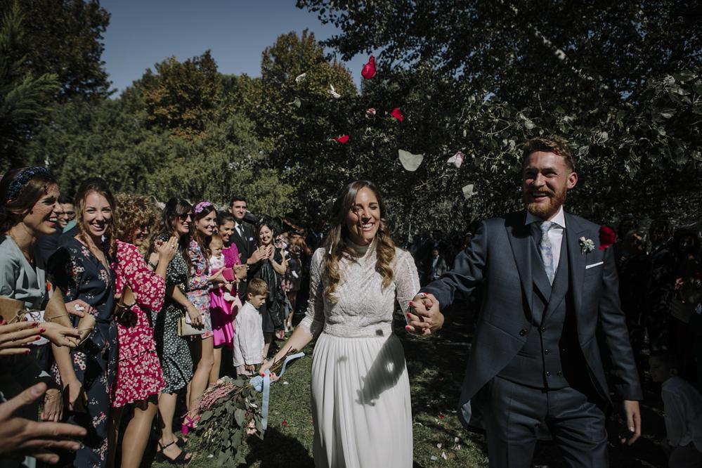 salida de la ceremonia civil