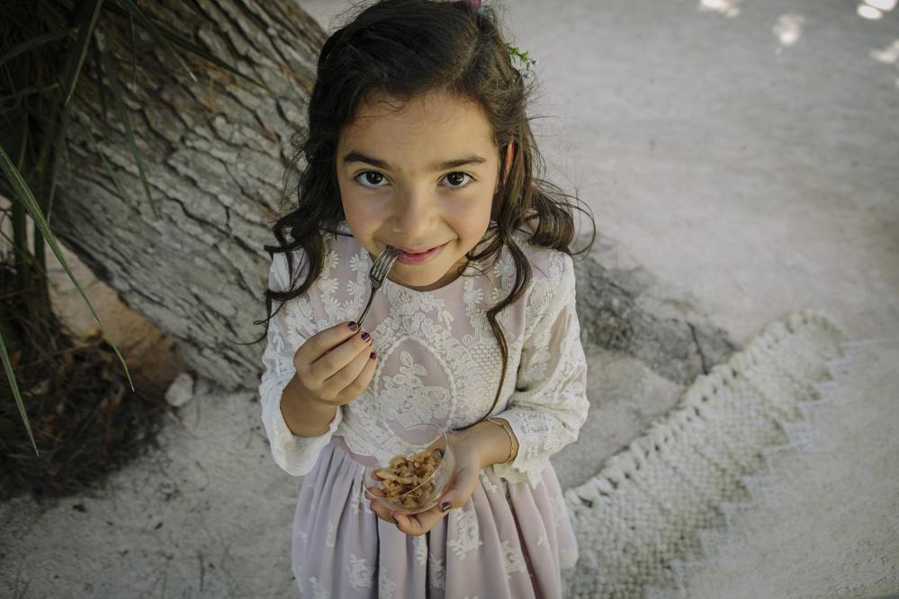 niña cóctel en Soto de Bruil
