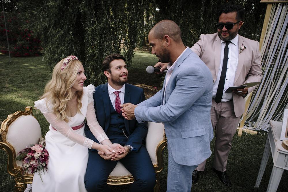 entrega anillos boda