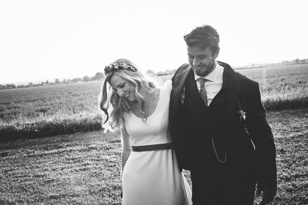 boda blanco y negro