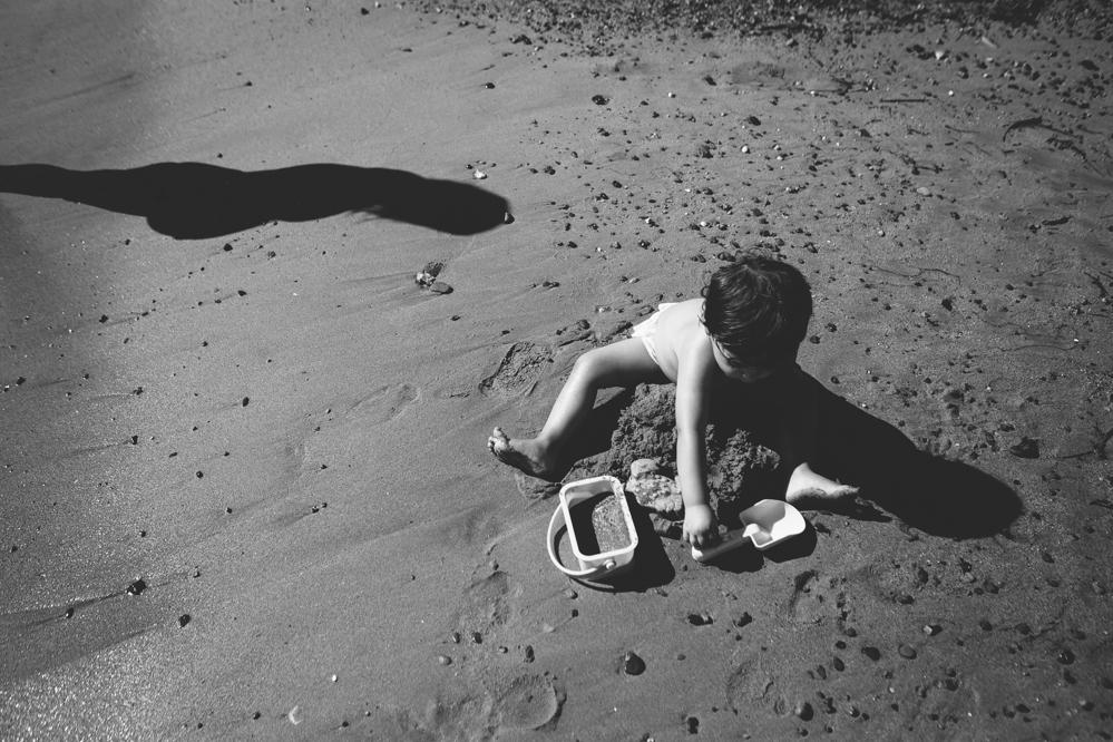 sesion de embarazada en la playa