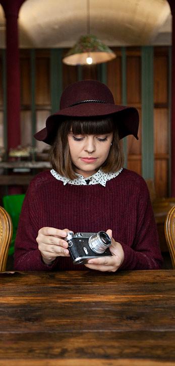 fotografa y camara de fotos