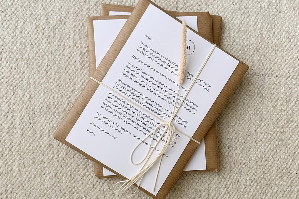Postales con Mensaje - Packaging
