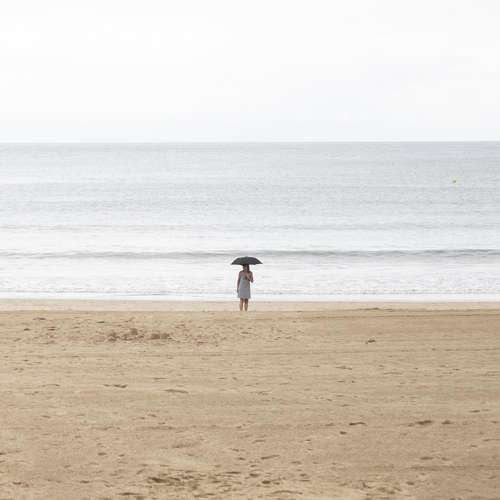 paraguas mar
